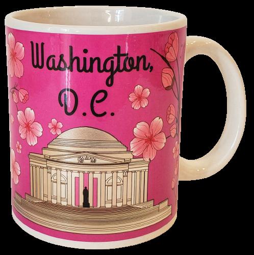 Washington DC Cherry Blossom Coffee Mug