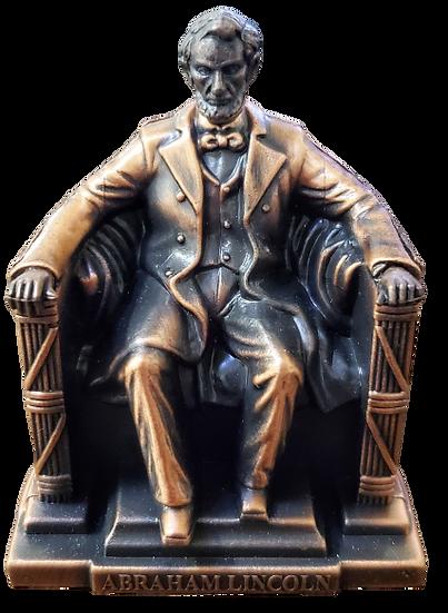 Replica- Abe Lincoln Die-cast Pencil Sharper