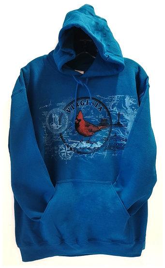 Adult Hoody - Virginia Cardinal Sweatshirt