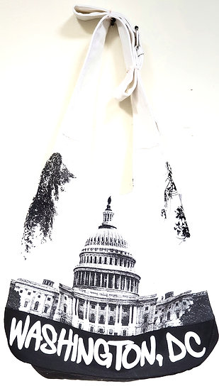 Tote bag - Round Sling Bag - Capitol