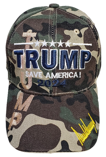 Caps - Trump 2024 Save America!
