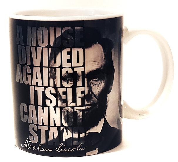 Coffee Mug - Lincoln - House Divided