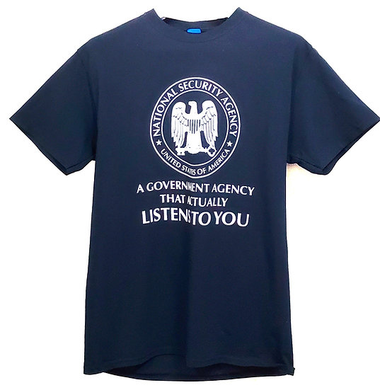 T-shirt - NSA Government Agency