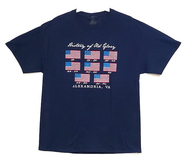 T-shirt - Flags