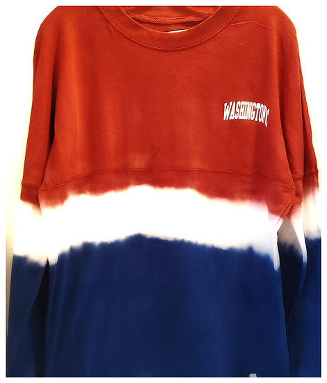 Crew Neck - Tri-Color - Washington, DC