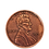 """Thumbnail: Jumbo Coin - Collector One Cent 1909 Replica - 3"""""""
