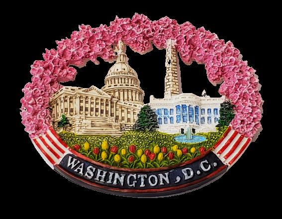Magnet - Washington DC Cherry Blossom