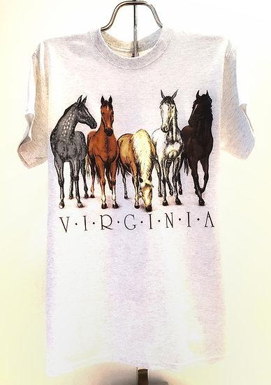 T-shirt - Virginia Horses