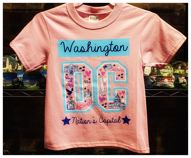 Kid T-shirt - All Around Town - DC