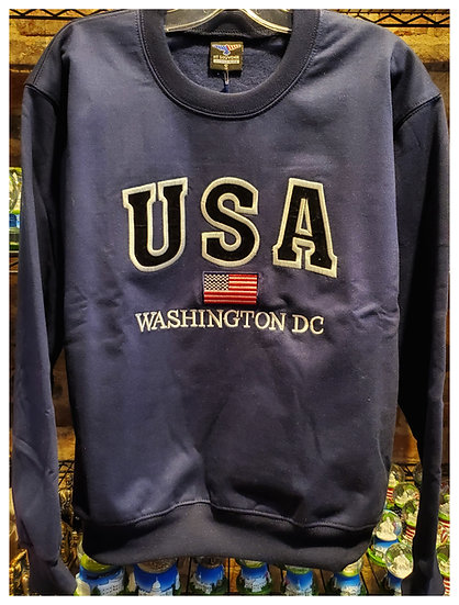 Crewneck USA Sweatshirt