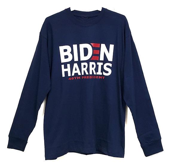 Biden Harris Long Sleeve Shirt