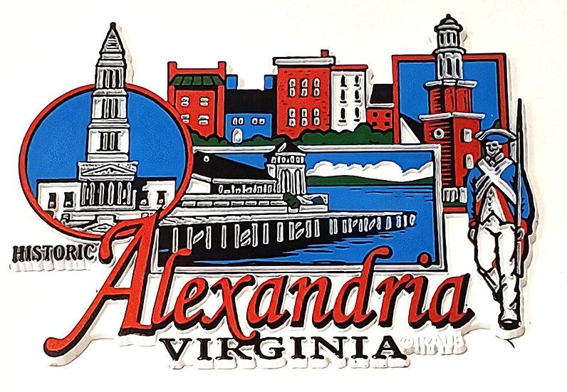 Magnet - Alexandria Virginia