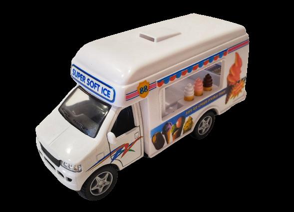 Toys - Super Soft Ice Cream Truck