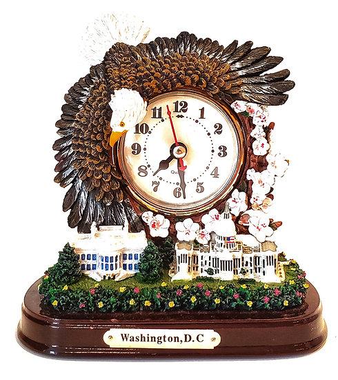 Replicas - Eagle Capitol Scene Clock