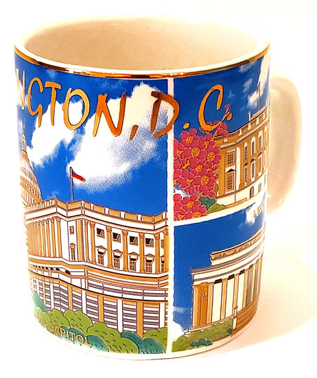 Mini Mug - White House