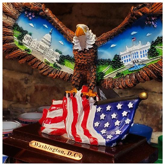 Capital and White House Eagle Statue