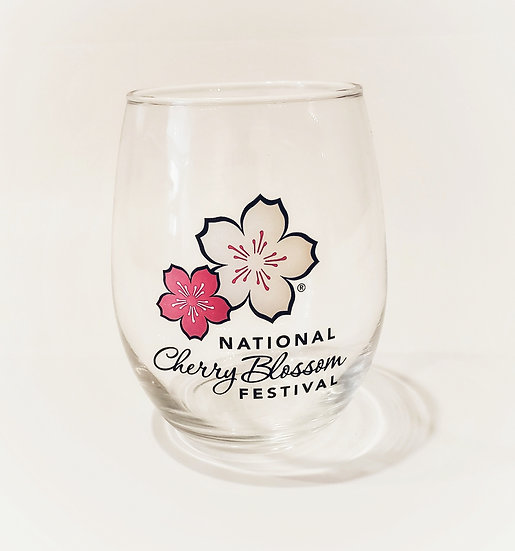 Stemless Wine Glass - NCBF Logo