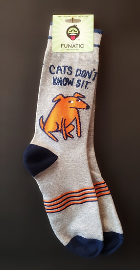 Cats Don't Know Sit Sock