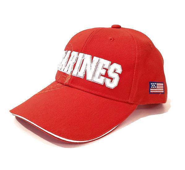 Cap - Marines Red