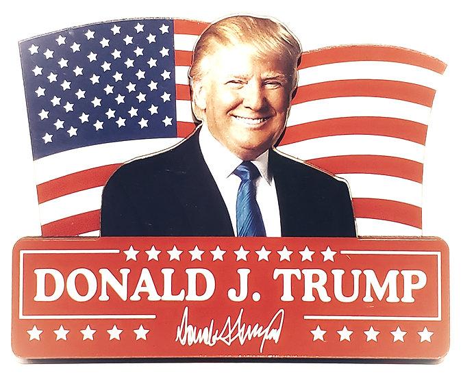 Magnet (Wooden) - Donald Trump