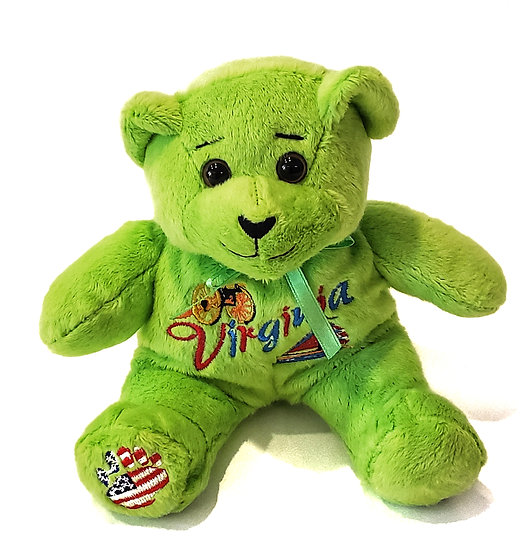 Bear - Virginia Teddy  Green