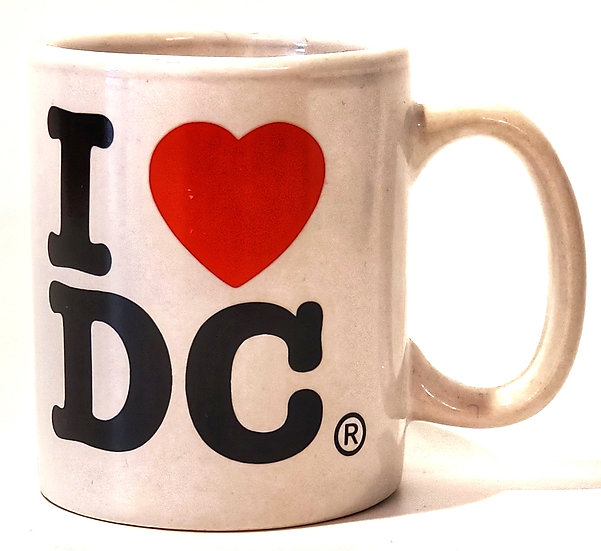 Mini Mug - I Heart DC