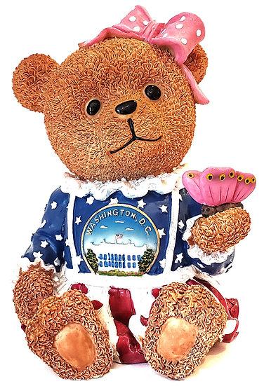 Bear Bank -White House Ceramic