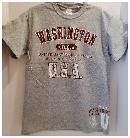 Adult T-Shirt - Washington D.C USA - 2 Colors