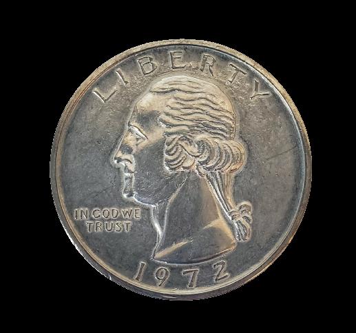 """Jumbo Coin - Collector Quarter Replica - 3"""""""