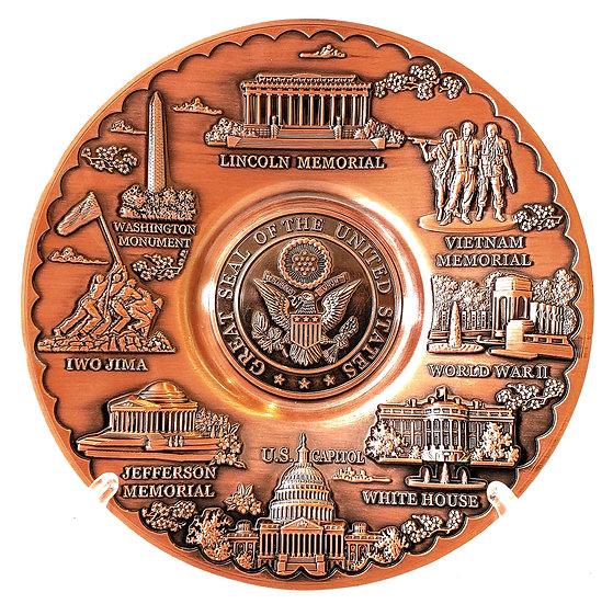Copper Monument Plate