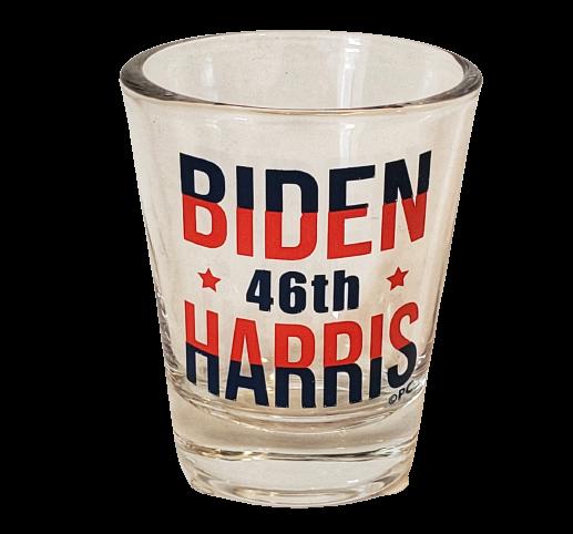 Biden Harris 46th Shot Glass
