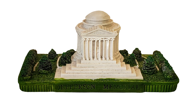 Replica - Thomas Jefferson Memorial