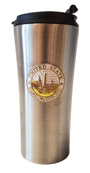 Travel Mug - Monuments Decal