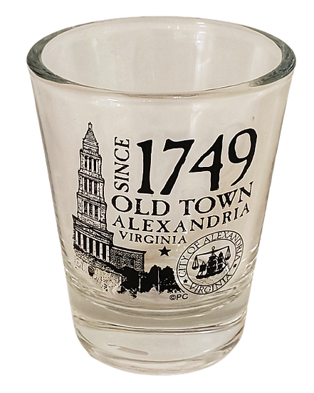 Drinkware - Old Town Alexandria 1749 Shot Glass
