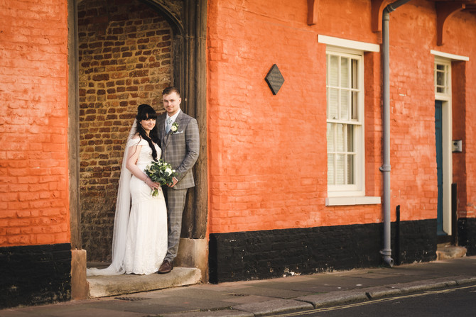 King's Lynn Town Hall Wedding Photographer | Katie & Jack's Micro Wedding