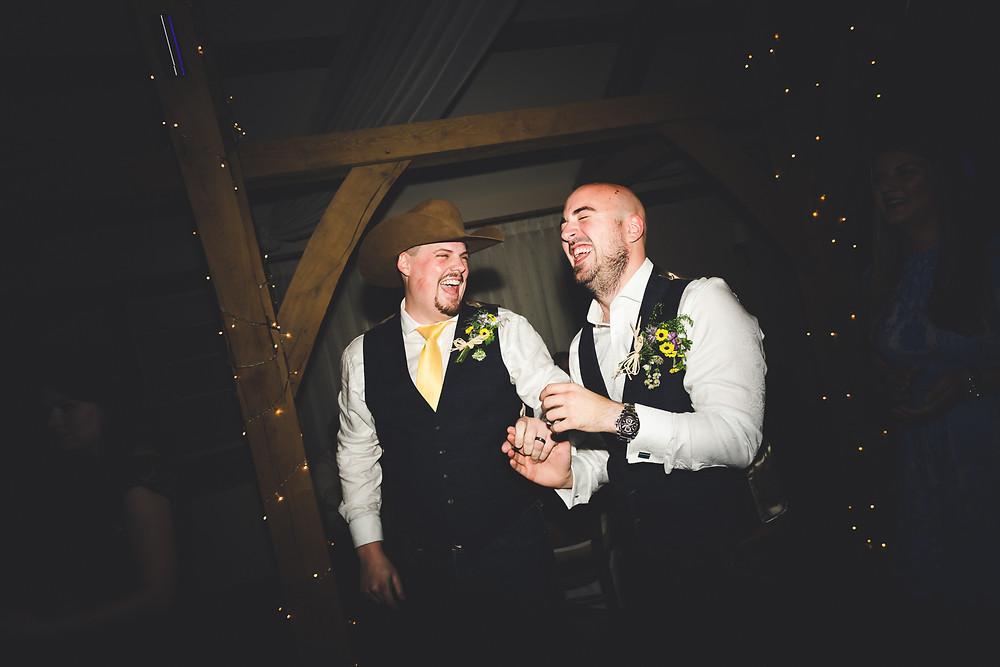 Wedding reception documentary photography