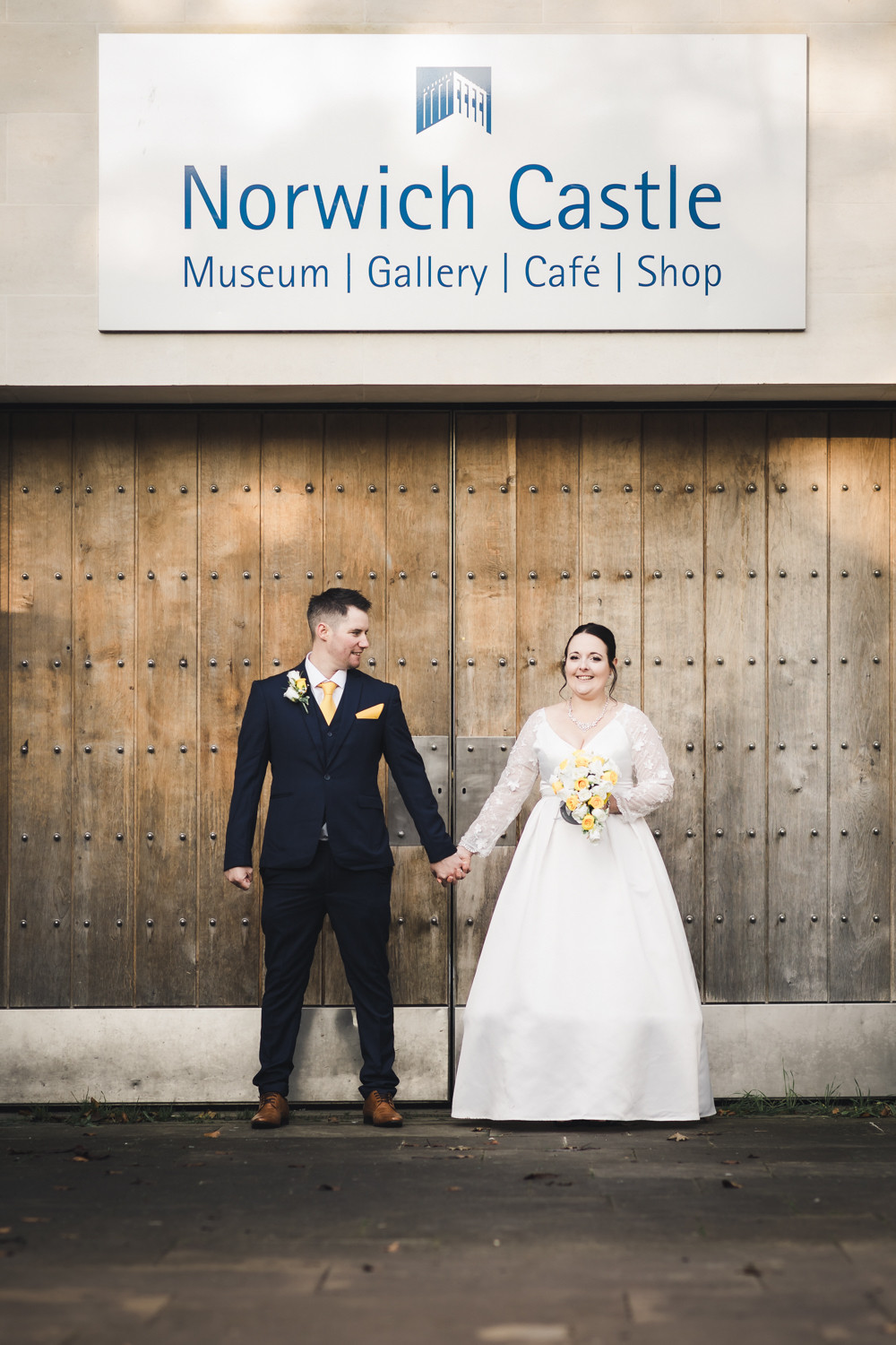 Norwich Castle Wedding Photo