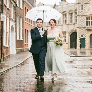 Kings Lynn Town Hall, Wet Wedding