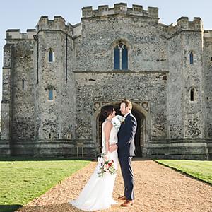 Pentney Abbey Wedding Photography / Jen & Daniel
