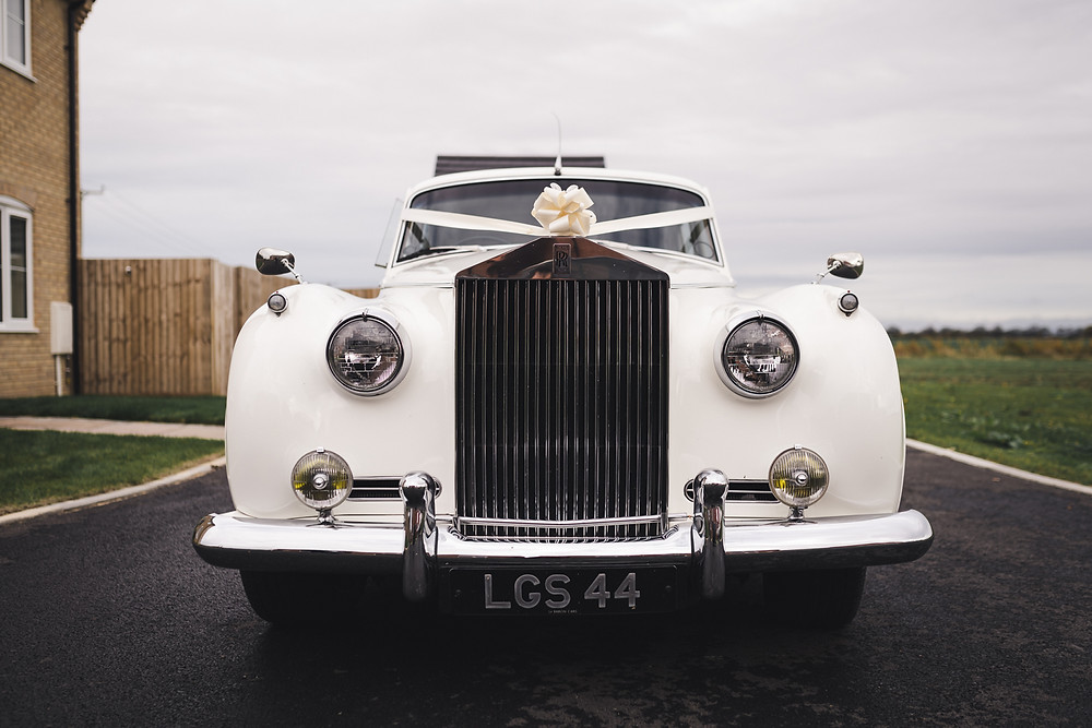 Rolls Royce Wedding Car, Peterborough