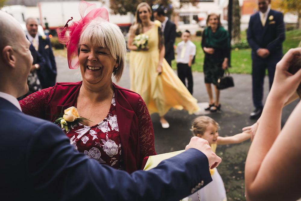 All Saints Church Holbeach Wedding Photo