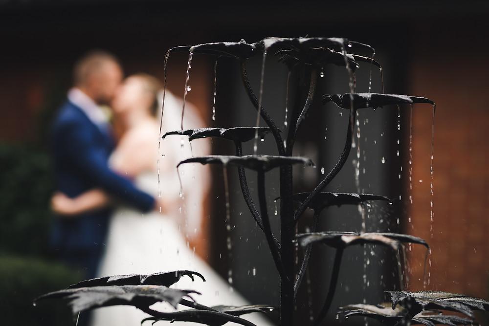 Wedding water fountain