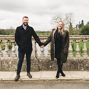 Stamford Photographer / Burghley House Engagement Shoot