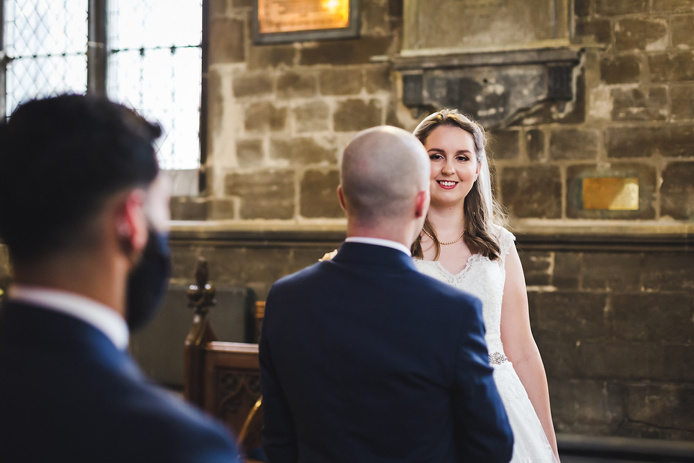 Wedding ceremony photo Spalding