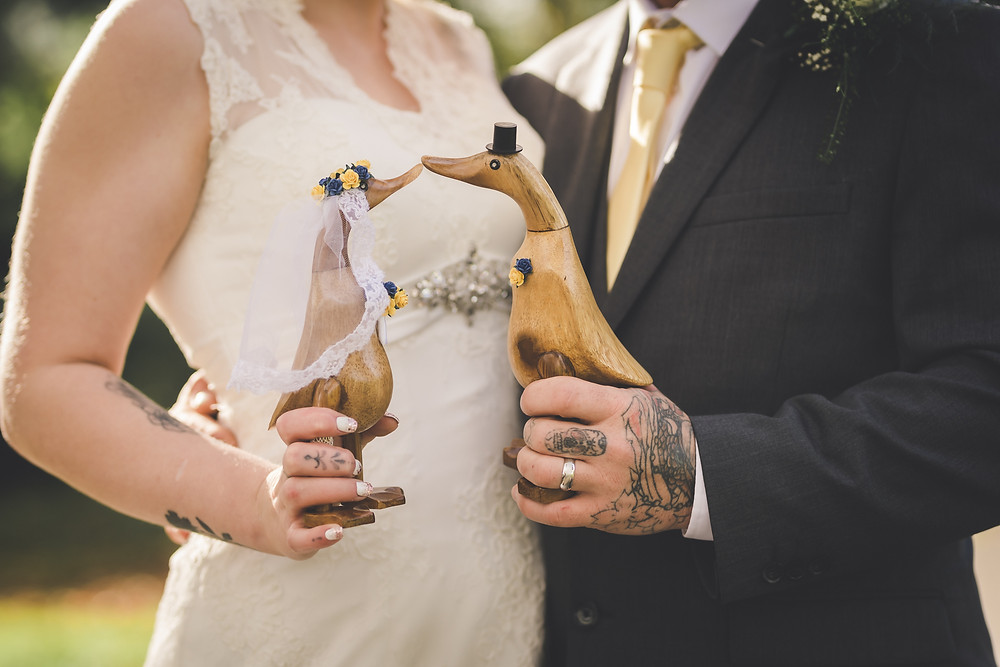 Wedding ducks
