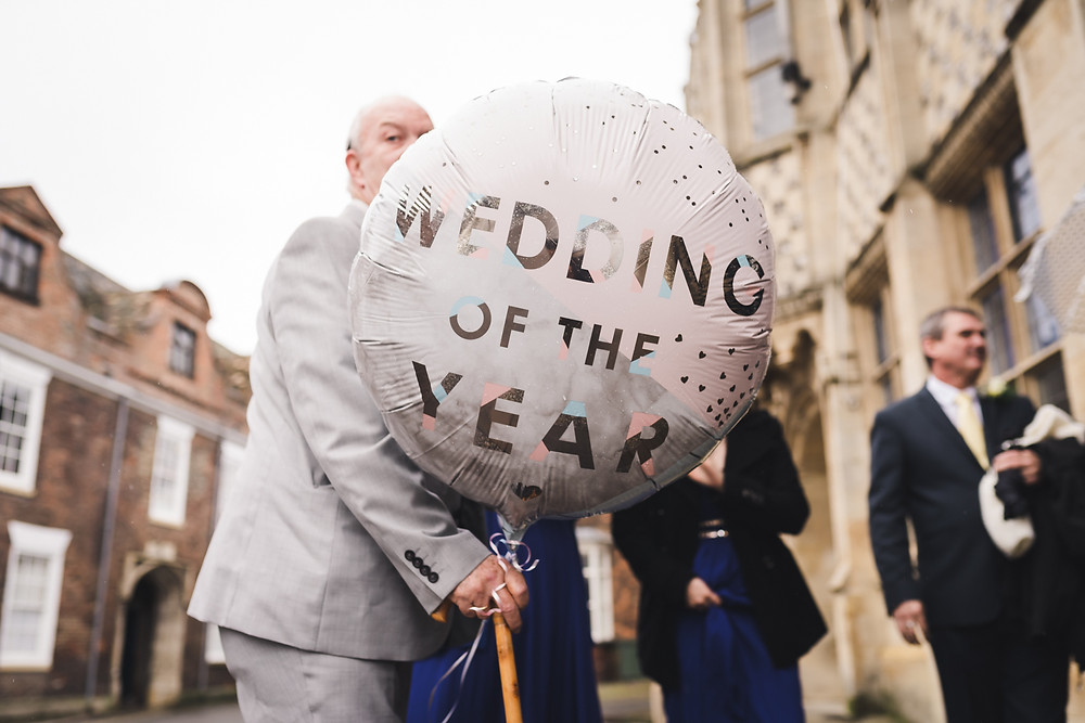 King's Lynn wedding balloon