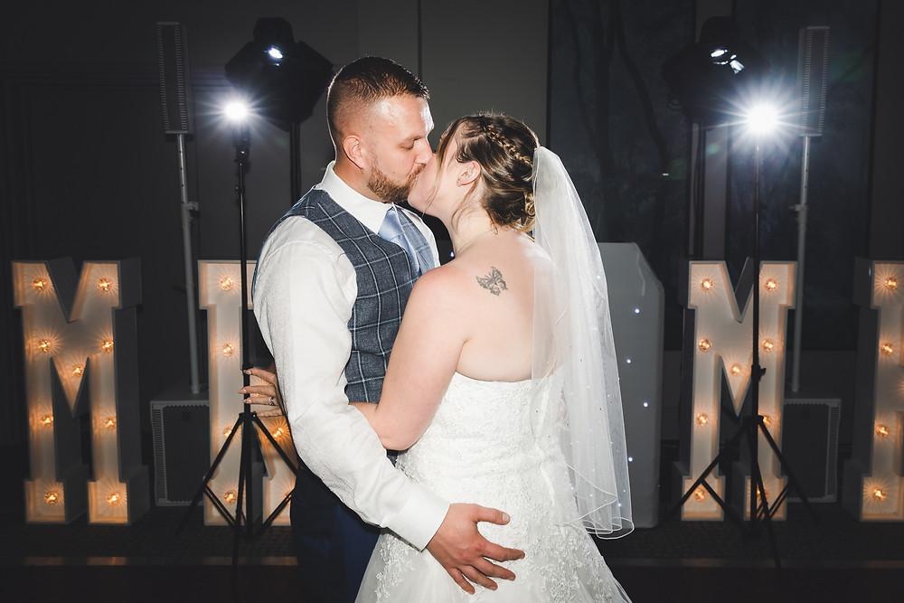 wedding 1st dance photography
