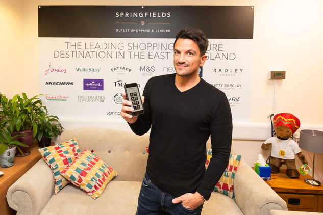 Peter Andre at Springfields