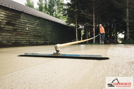 Supercrete Groundworks