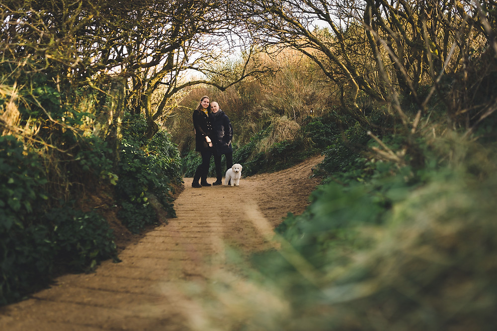Old Hunstanton engagement shoot photography